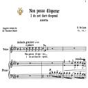 Non posso disperar, High Voice in F Minor, G.M.Bononcini. For Soprano, Tenor. Tablet Sheet Music. A5 (Landscape). Schirmer (1894) | eBooks | Sheet Music