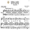 Sebben, crudele, High Voice in E Minor, A.Caldara. For Soprano, Tenor.  Tablet Sheet Music. A5 (Landscape). Schirmer (1894) | eBooks | Sheet Music