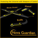 NOVA GUARDIAN Weapons for Game Dev (BLEND, DAE, FBX, OBJ) | Software | Games
