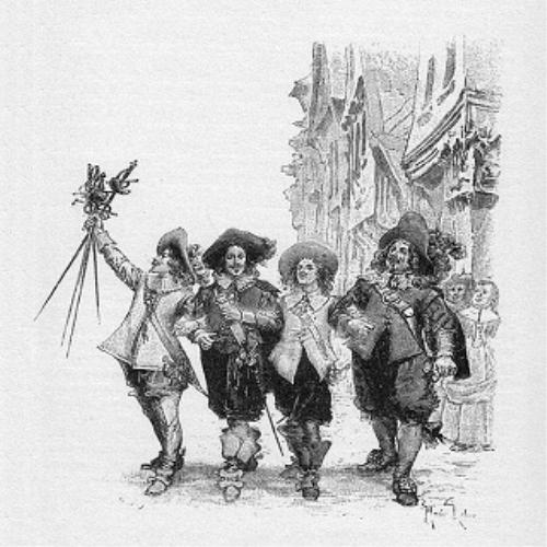 Fourth Additional product image for - The Three Musketeers