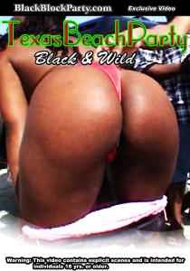 texas beach party - black & wild (galveston tx)