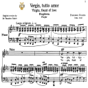Vergin, tutto amor, Medium Voice in C Minor, F.Durante. For Soprano, Mezzo, Tenor. Tablet Sheet Music. A5 (Landscape). Schirmer (1894) | eBooks | Sheet Music
