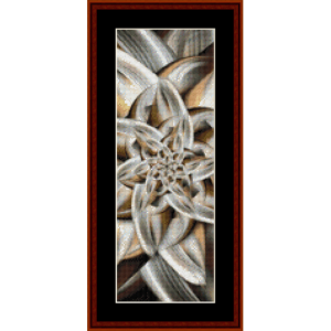 Fractal 617 Bookmark by Cross Stitch Collectibles | Crafting | Cross-Stitch | Other