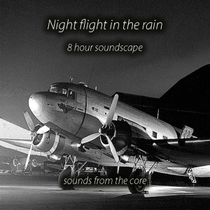 8 hour dc3 night flight in the rain