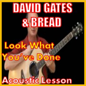 learn to play look what you've done by bread
