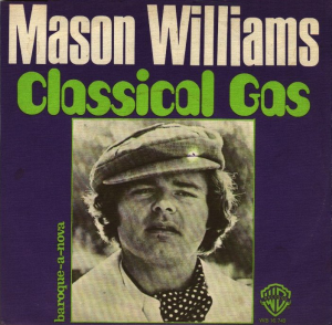 classical gas (mason williams) custom arranged for rhythm section, guitar solo and brass quintet