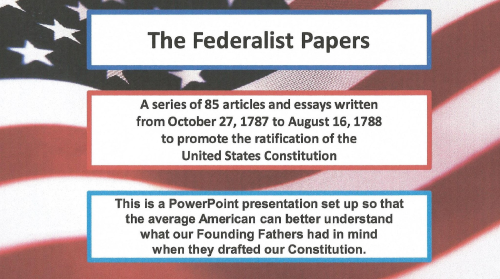 First Additional product image for - The Federalist No. 4