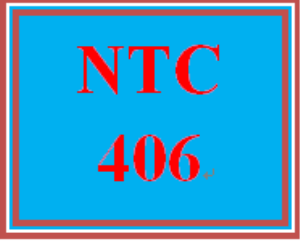 NTC 406 Week 3 Learning Team: Generic Manufacturing Company Project, Part II: Troubleshooting FAQ | eBooks | Education