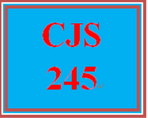 CJS 245 Week 4 Juvenile Offender Assignment | eBooks | Education