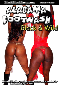 [SD] ALABAMA FOOTWASH - BLACK & WILD (Uniontown AL) | Movies and Videos | Other