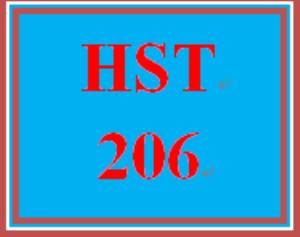 HST 206 Week 5 Journal Entry | eBooks | Education