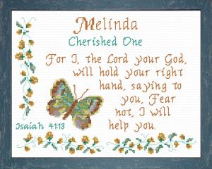 name blessings - melinda