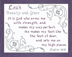 name blessings - leah 3
