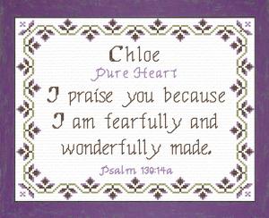 name blessings - chloe 3