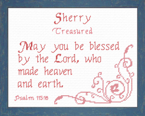 Name Blessings - Sherry | Crafting | Cross-Stitch | Other