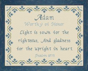 name blessings - adam 2