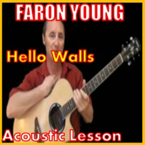learn to play hello walls by faron young