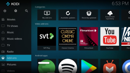 Third Additional product image for - RaspAnd Nougat 7.1.2 for Raspberry Pi 3 and Pi 2 Build 170616 with GAPPS, Kodi 17.3, Aptoide TV, Firefox and Clash of Clans
