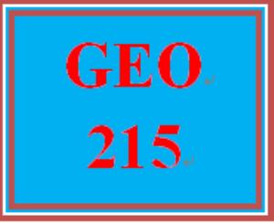 GEO 215 Week 2 Population Worksheet | eBooks | Education