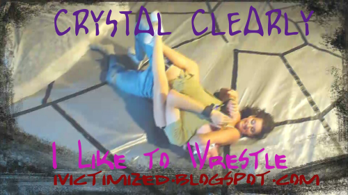 Second Additional product image for - Crystal Clearly- I Like to Wrestle