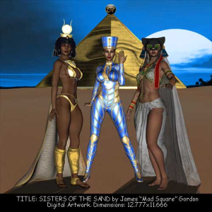Sisters of the Sand | Photos and Images | Digital Art