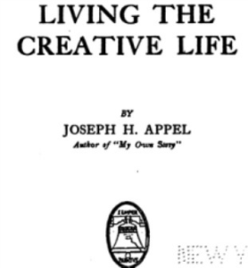 Living the Creative Life by Joseph Herbert Appel | eBooks | Self Help