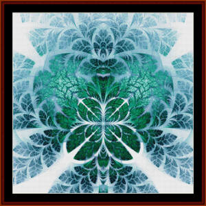 Fractal 620 cross stitch pattern by Cross Stitch Collectibles | Crafting | Cross-Stitch | Wall Hangings