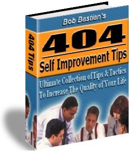 404 Self Improvement Tips by Bob Bastian | eBooks | Self Help