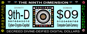 the ninth dimension = $09