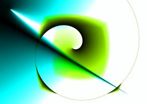 abstract logoish painting
