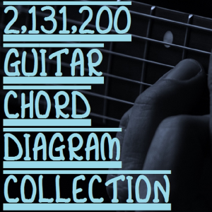 2,131,200 guitar chord diagrams collection