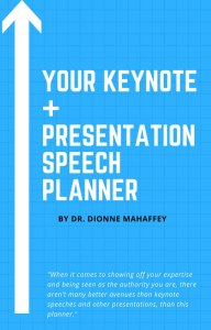 keynote speech planner