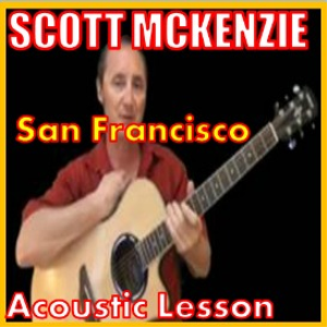 learn to play san francisco by scott mckenzie