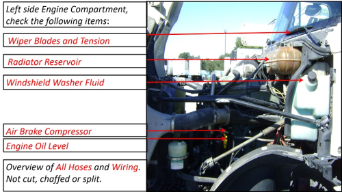 Second Additional product image for - SMT Class A Pre-Trip Inspection Manual