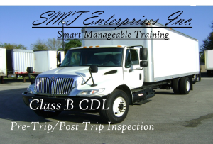 smt class b pre-trip inspection manual