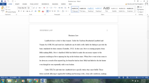 Business Law | Documents and Forms | Research Papers