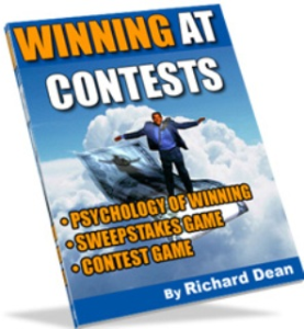 how to make thousands of dollar$ by winning at contests by richard dean