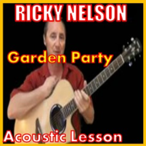 learn to play garden party by ricky nelson