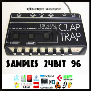 simmons digital drum clap trap analog vintage 24 bit 96 24bit retro beats sample