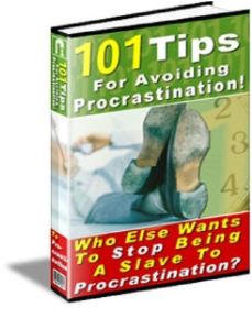 101 Tips for Avoiding Procrastination by Roger Hoover | eBooks | Self Help