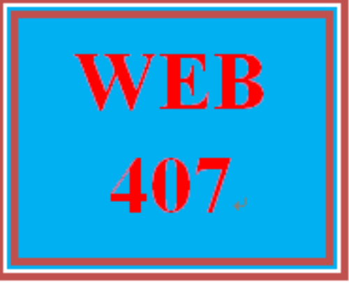 First Additional product image for - WEB 407Week 1 Individual: Creating an HTML5 Document