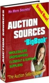 auction source bigbook (dropshippers included) | eBooks | Internet
