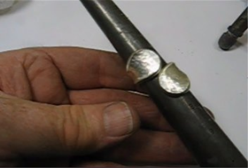 Third Additional product image for - Adjustable Band Rings 1, taught by Don Norris, Silversmithing for jewelry making.