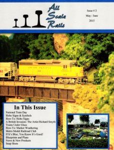 All Scale Rails Issue #2 May / June 2015 | eBooks | Magazines