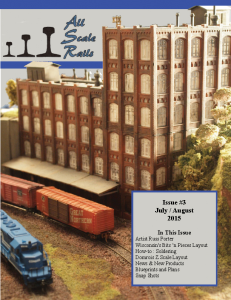 All Scale Rails Issue #3 July / August 2015 | eBooks | Magazines