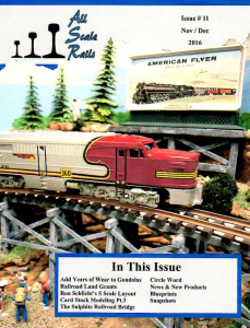 All Scale Rails Issue #11 November / December 2016 | eBooks | Magazines