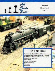 all scale rails issue #13 march / april 2017