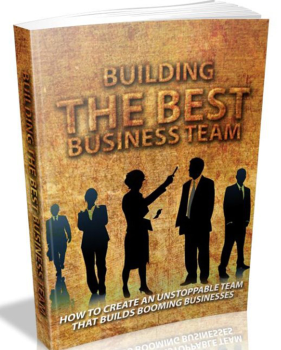 First Additional product image for - Building The Best Business Team