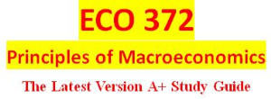 ECO 372 Final Examination | eBooks | Education