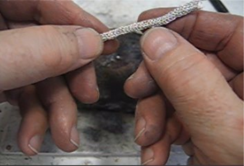 First Additional product image for - Chain, Crochet a beautiful chain, taught by Don Norris, Silversmithing for jewelry making.